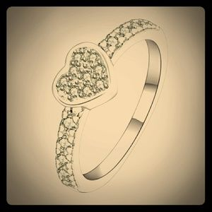 Adorable Heart Ring
